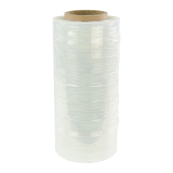 "3"" x 1000' Conventional Rolls of Stretch Wrap 80 Gauge/.0008""/.8 Mil"