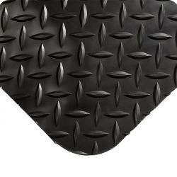3' x 5' Black Diamond-Plate Anti-Fatigue Mat