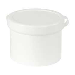 "1 oz. White Poly-Con 1-1/2"" x 1-1/2"""