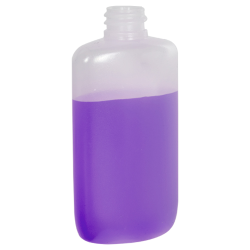 4 oz. Oval Bottle with 20/410 Neck (Cap Sold Separately)