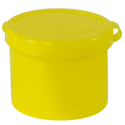 "1 oz. Yellow Poly-Con 1-1/2"" x 1-1/2"""