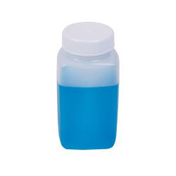 5 oz. Polyethylene Wide Mouth Oblong Bottle with 38/400 Cap