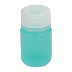 1 oz./30mL Nalgene™ Wide Mouth Polypropylene Economy Bottle with 28mm Cap