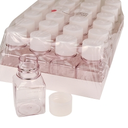 Thermo Scientific™ Nalgene™ PET Sterile Square Media Bottles with Caps