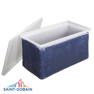 "14"" x 10"" x 10"" Rectangular FRP Casing (9227)"