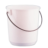 "Nalgene™ Chemical 11 Qt. Bucket - 9-1/2"" H x 10-1/2"" Dia."