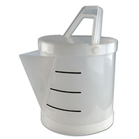 Tamco® Polypropylene 3.5 Gallon Acid Bucket with Spout