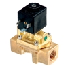 "1/4"" NPT/12.5mm Air-Sol Brass 2-Way Process Solenoid Valve with 24 VDC"