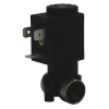 "1/8"" NPT 1.5mm Orifice 2-Way Nylon Solenoid Valve - 24 VDC Spaded"