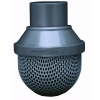 "1/2"" Spigot PVC Standard Foot Valve Screen"
