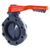 "2"" Hayward® BYV Series PVC Butterfly Valve with Lever Handle & EPDM Liner"