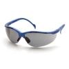 Venture ll Metallic Blue Frame, I/O Mirror Lens
