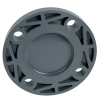 "2"" Schedule 80 Gray PVC Blind Flange"