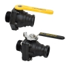 "2"" Full Port Ball Valve 2"" Male Adapter X 2"" MNPT"