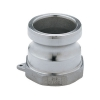 "3/4"" Male Adapter x 3/4"" Female Thread Stainless Steel Cam Lever Coupling"