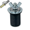 """Wing Nut Expandable Plug 1"""" Dia. x 11/16"""" Height"""