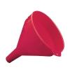 2 Quart Red Chemical Transfer Funnel