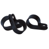 "Nylon Loop Clamp A-.629"" B-.393"" C-.630"""