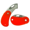 Orange Pocket Safety Cutter with Spring Back