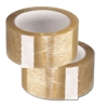 Clear and Tan Carton Sealing Tape