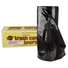 55 Gallon 1.75 mil Black Trash Can Liners
