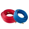 "3/8""ID x .625"" OD Blue POLYAIR® Multi-Purpose Air Hose Assembly"