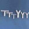 "1/16"" T Type Polypropylene Connector"
