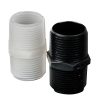 "3/4"" NPT Black Nylon Nipple"