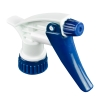 "28/400 Blue & White Sprayer with 7-1/4"" Dip Tube (Bottle Sold Separately)"