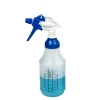 24 oz. Wide Mouth Spray Bottle with Blue & White Sprayer