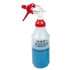 32 oz. Wide Mouth Spray Bottle with Red & White Sprayer