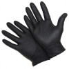Large Textured Nitrile Black Powder Free Gloves