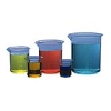 Kartell Griffin Style Polymethylpentene Beakers