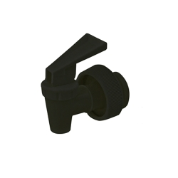"Black 38 MM Polypropylene 1/2"" ID"