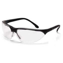 Black Frame, Clear Lens Rendezvous® Glasses