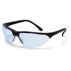 Black Frame, Infinity Blue Anit-Fog Lens Rendezvous® Glasses