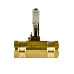 "1/4"" FNPT X 1/4"" FNPT Series Brass Ball Valve with Buna-N Seals"