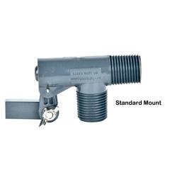 "3/8"" MPT Standard Mount PVC Float Valve with 0.25"" Orifice"
