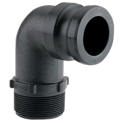 "2"" 90° Male Adapter x MNPT"