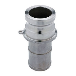 "1-1/2"" Male Adapter x 1-1/2"" Hose Shank Stainless Steel Coupling"