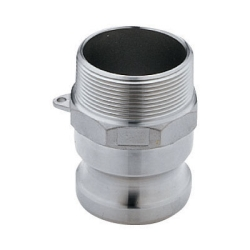 "1"" Male Adapter x 1"" Male Thread Stainless Steel Cam Lever Coupling"