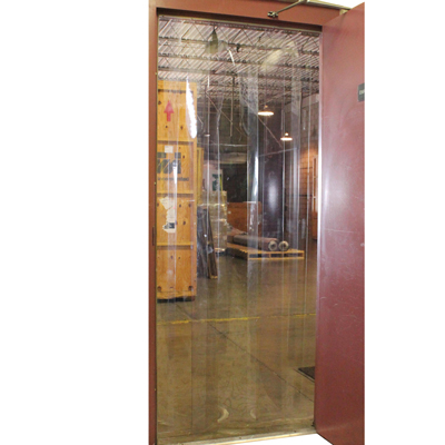 """Personal Strip Door - 40"""" Wide x 80"""" High with 8"""" Strips"""
