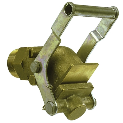 "2"" NPT Heavy Duty Brass Gate Valve"