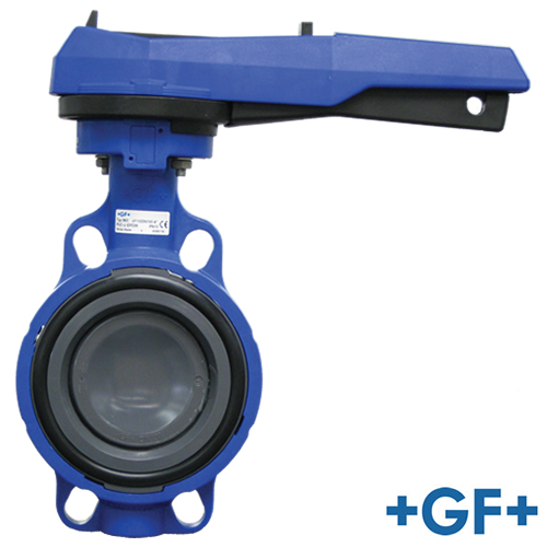 "4"" PVC 563 Aqua Butterfly Valve with EPDM Seals"