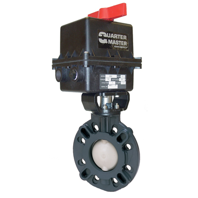 "2-1/2"" Type 57 Butterfly Valve with Series 94 Electric Actuator"