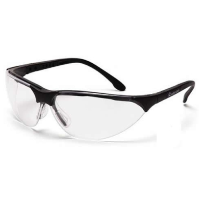 Black Frame, Clear Lens Rendezvous® Glasses