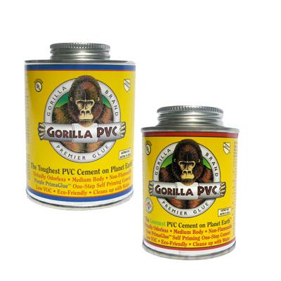 16 oz. Clear Gorilla PVC™ Cement