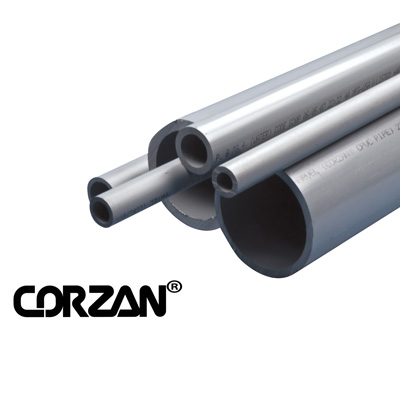 "1-1/2"" Schedule 80 CPVC Pipe (1' Long Piece)"