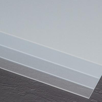""".236"""" x 48"""" x 96"""" Acrylic Crystal Ice Sheet"""