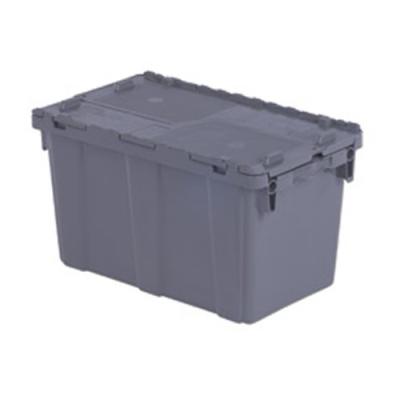 "22.3""L x 13""W x 12.8""H Gray Container"